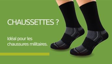Chaussettes militaires